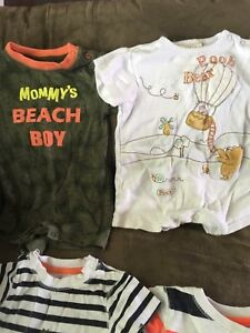 Boys Rompers 6-12 months