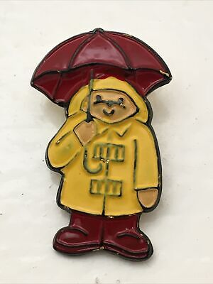 Eden '92 Paddington Bear Collector Button