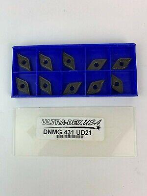Ultra-dex Usa Dnmg 431 Ud21 55 Degree Diamond Insert