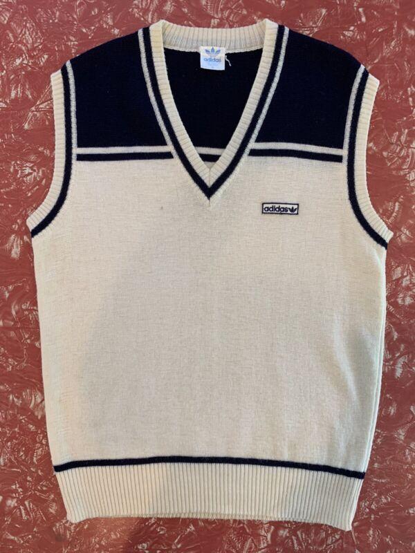 adidas Sweater Vest Vintage Retro