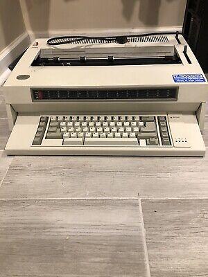 Ibm Wheelwriter 3 Series 2vintage Electric Typewriter - Tested Working