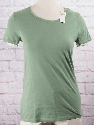 NWT Womens GAP Favorite Crew Neck T-Shirt Twig Modal Blend - 644498