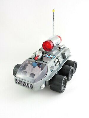 SPACE ROCKET CAR Battery Operated NANYANG Toy Taiwan vintage moon rover vehicle for sale  Shipping to India