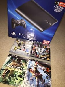 PLAY STATION 3 WITH GAMES FOR SALE