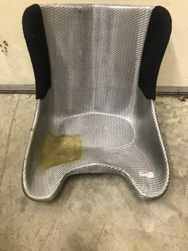 "G Seat Fiberglass Go Kart Racing Seat 1/4 Pad 13"" Minimum Width"