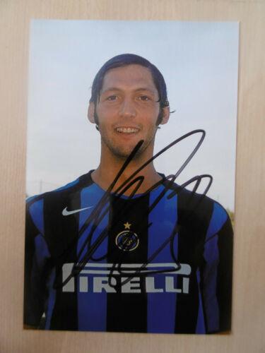 "Marco Materazzi ""Inter"" Autogramm signed 10x15 cm Bild"