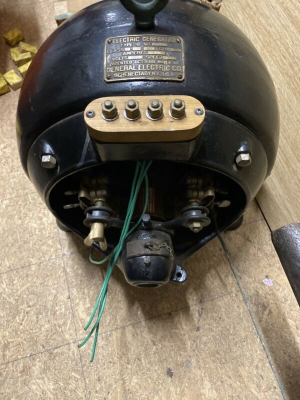 1890 Dynamo Generator Edison Dc Direct Current Early Electric General Electric