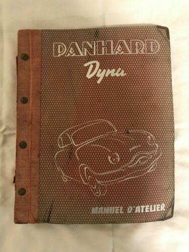1959 Panhard Dyna Type Z Manuel D