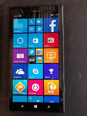 Unlocked Nokia Lumia 1520 4G LTE RM-937 16GB  6 inch GSM World Phone  - Black
