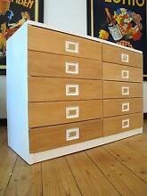 Retro Vintage Alrob Chest Of Drawers Danish Design Era Heidelberg Banyule Area Preview