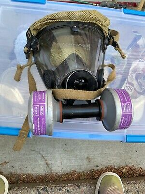 Scott Air-pak Av-2000 Mask Size Large Firefighter