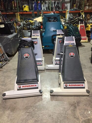 "ADVANCE 28XP WIDE AREA UPRIGHT COMMERCIAL VACUUM CLEANER ""VERY CLEAN"" ""TESTED"""