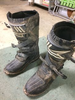 Dirt bike boots US11 - EU46
