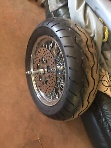 "200 mm x 16"" harley rear wheel"