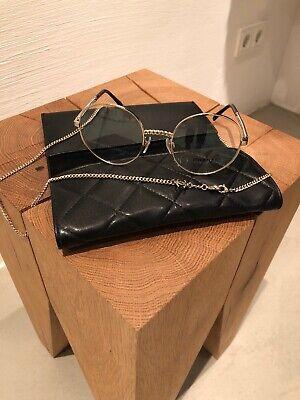 Chanel Brillenfassung CH 2186 C395 51/21 Farbe gold - mit Kette, neue Kollektion