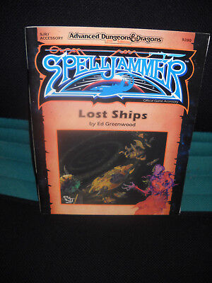 AD&D Advanced Dungeons & Dragons: Spelljammer - Lost Ships