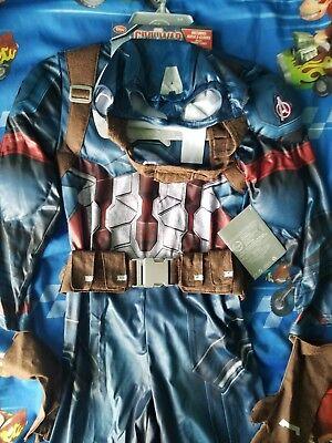 Captain America Costume Disney Store Marvel Avengers Boys Halloween Civil War - Halloween Usa Stores