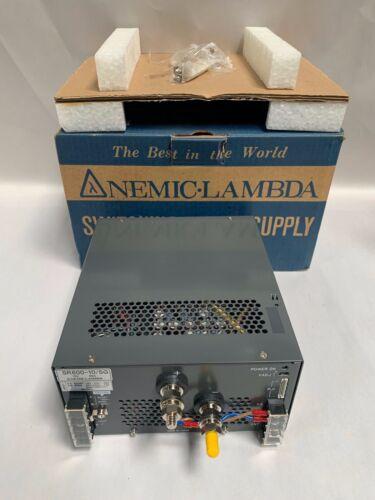 UNUSED Nemic Lambda SR600-10-5G Switching Power Supply (A20)