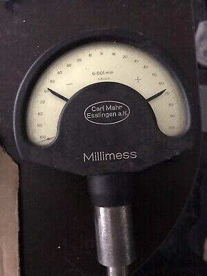 Used German Mahr Millimess Mikrokator -100 With Resolution 0.001mm