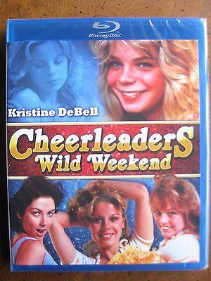 THE CHEERLEADERS WILD WEEKEND (1978) (Blu-Ray) CODE RED - KRISTINE DeBELL - NEW!
