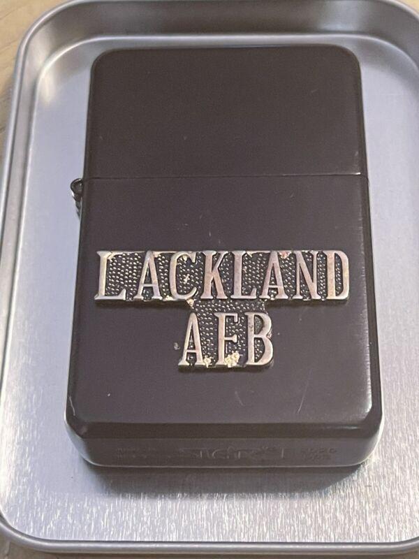 Star Black Matte lighter Military LackLand Air Force Base Basic Training Center
