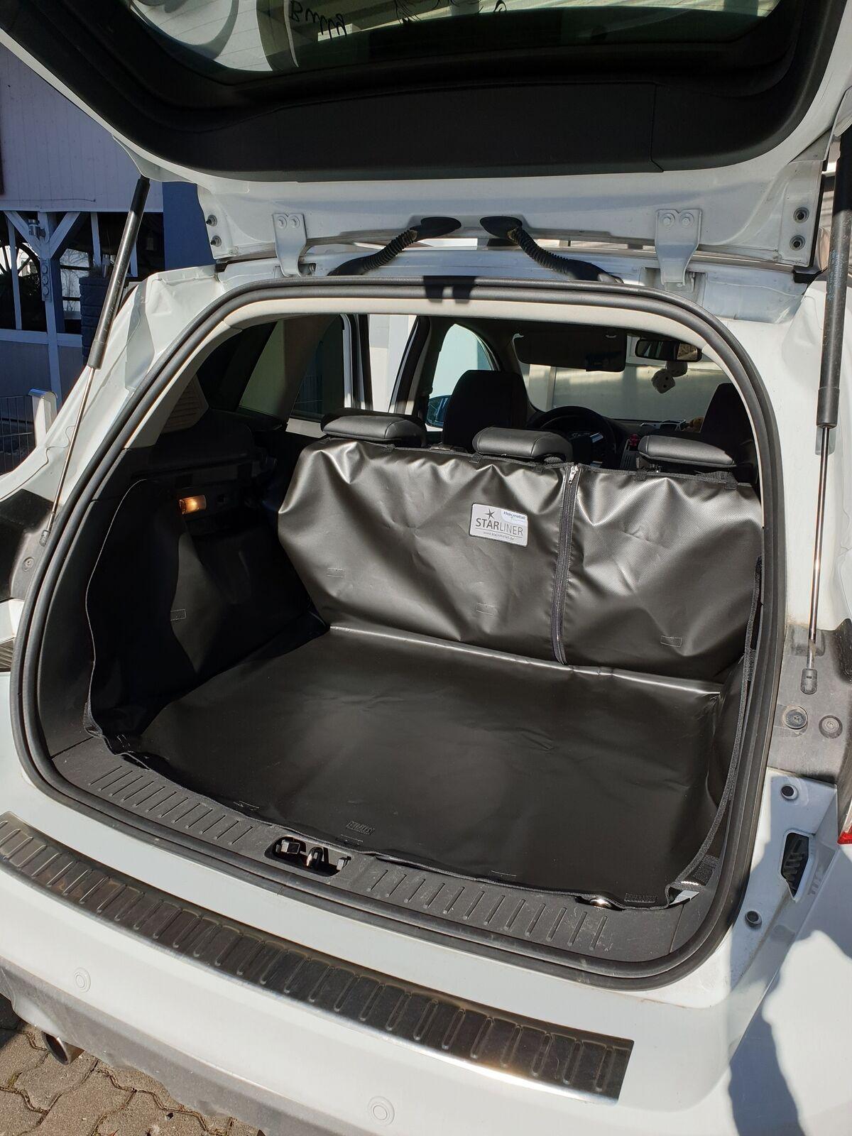 Kofferraumdecke Starliner Kofferraumwanne grau für VW Caddy Maxi Ladeboden eben,