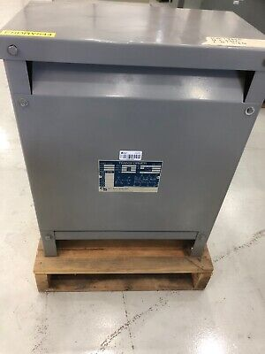 Gs Hevi-duty Dry Type Transformer 15 Kva 480 Primary - 208y120 Secondary
