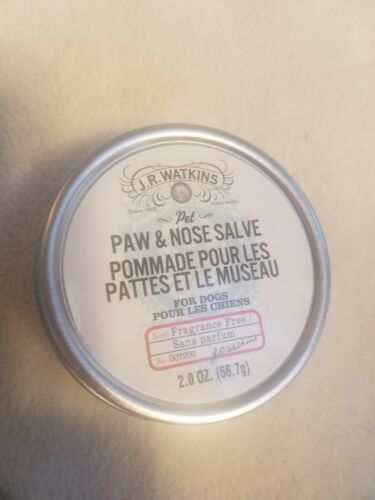 J.R Watkins Paw And Nose Salve / For Dogs 2oz 56.7g  - $10.89