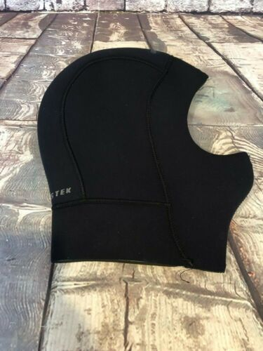 Bare Elastic Head Hood, Black, Size Large