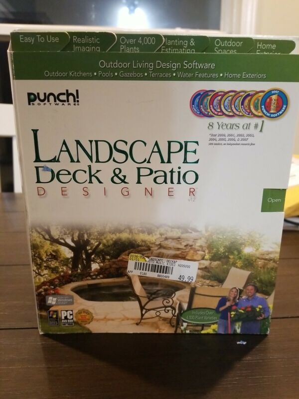 Punch Software Landscape And Deck &Patio