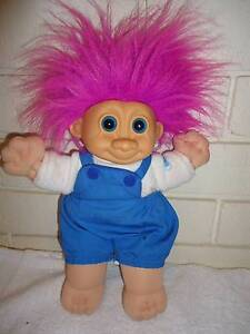 TROLL DOLL TROLL KIDZ RUSS BERRIE  U.K. LTD 14 inch Osborne Park Stirling Area Preview