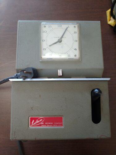 Lathem Time recorder