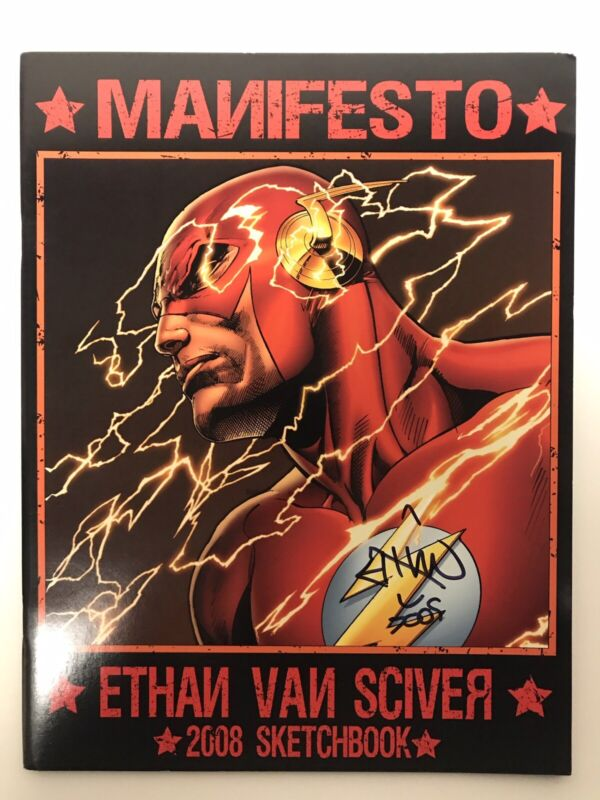 Ethan Van Sciver 2008 Sketchbook SIGNED!