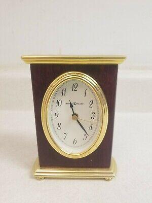 Vintage Howard Miller Desk Clock w/ Alarm 645-223 (K98886) - Rare! Excellent!