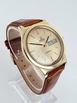 1975 Vintage Omega Geneve Day Date Automatic 166.0169 Cal.1022 Watch