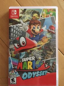 Nintendo Switch Mario Odyssey almost new
