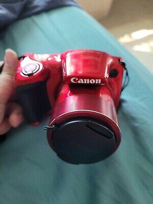 Canon PowerShot SX420 20 MP Digital Camera - Red