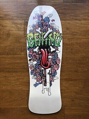Vintage Santa Cruz Psycho Eyes Skateboard Sticker NOS 1987