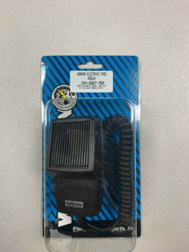 WORKMAN DM507-5R REPLACEMENT MIC MICROPHONE 5 PIN DIN For REALISTIC CB