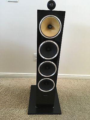 """Bowers & Wilkins CM10 6-1/2"""" 3-Way Floorstanding Speaker Gloss Black"""