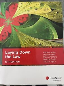 Laying down the law 10th edition BRAND NEW