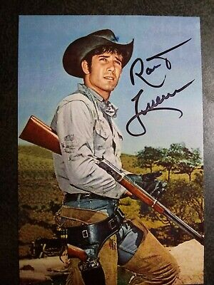 ROBERT FULLER Authentic Hand Signed Autograph 4X6 Photo - WESTERN ACTOR