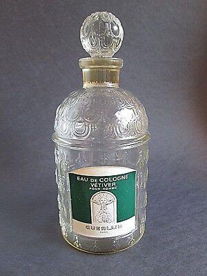 Vintage 1959 Guerlain Bee Bottle Eau de Cologne Vetiver Pour Homme Beehive RARE