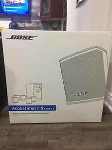 Bose Acoustimass 6 series V Brand with Receipts $475 won't last