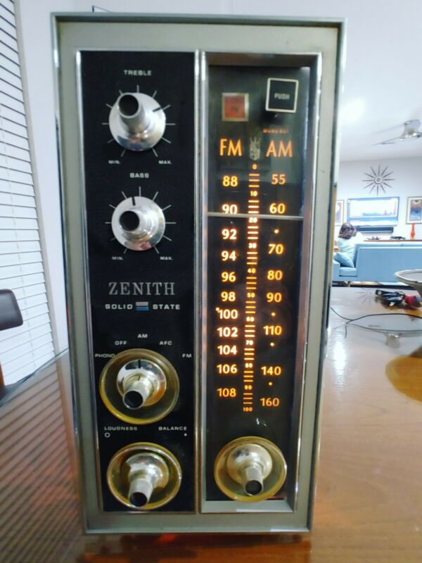 Zenith console cabinet stereo Chassis from  radio amplifier amp tuner
