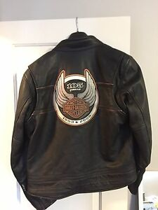 Harley Davidson 105 Anniversary Leather Jacket