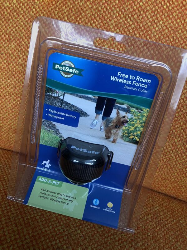 *NEW & SEALED* PetSafe Free To Roam Wireless Fence Receiver Collar Black