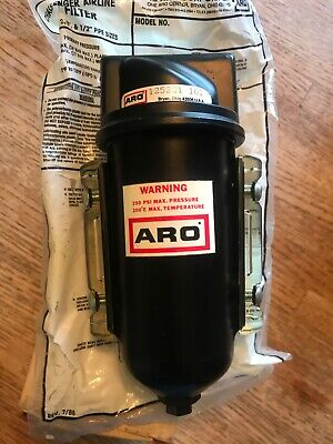 New In Box Aro Pneumatic Air Line Filter 14 Npt 250psi