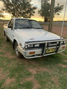 1992 Subaru Brumby (4x4) 4 Sp Manual 4x4 P/up