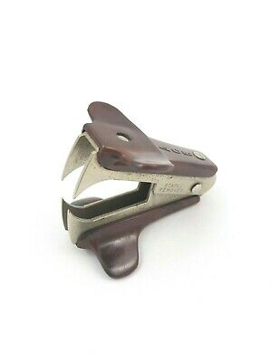 Ace Original Staple Remover Office Desk Supply Paper Tool Brown Marbleized